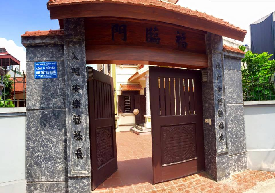 Trụ sở của Công ty CP Tam thất Hà Giang